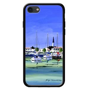 Coque smartphone – Philippe Deschamps – Port d'Ar- ile de ré