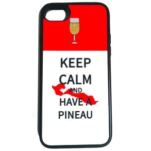 COQUE KEEP CALM AND HAVE A PINEAU
